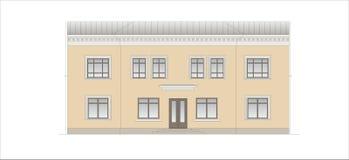 Budynki i struktury xx wiek wczesny i w połowie Zdjęcie Royalty Free