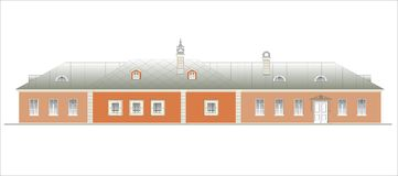 Budynki i struktury xx wiek wczesny i w połowie Obraz Royalty Free