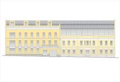 Budynki i struktury xx wiek wczesny i w połowie Obraz Stock