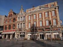 Budynki Leuven, Belgia (,) Fotografia Stock
