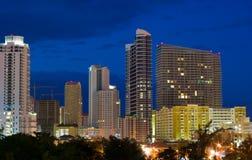 budynki Miami Obraz Royalty Free