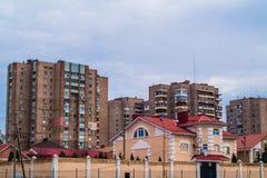 budynki miejskie Fotografia Stock