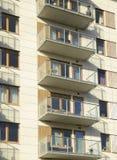 budynki mieszkalne z Obraz Royalty Free