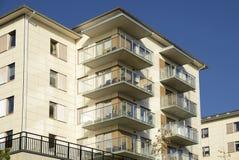 budynki mieszkalne z Zdjęcie Royalty Free