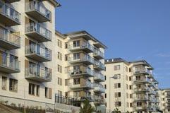 budynki mieszkalne z Zdjęcia Stock
