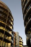 budynki mieszkalne z Zdjęcie Stock