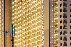 budynki mieszkalne z obraz stock