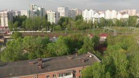 Budynki mieszkalni r??ni wzrosty w Moskwa, Rosja zbiory
