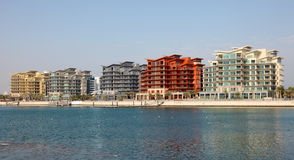 Budynki mieszkalni w Manama, Bahrajn obraz stock