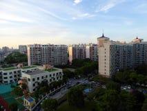 Budynki mieszkalni w Szanghaj obraz stock