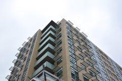 Budynki mieszkalni w w centrum Toronto Obraz Stock