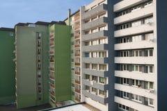 budynki mieszkaniowi Obrazy Stock