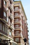 Budynki mieszkaniowi Obrazy Royalty Free