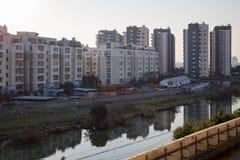 Budynki mieszkaniowi w Ningbo fotografia royalty free