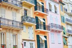 budynki Monaco fotografia stock