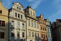 Budynki na głównego placu Starym miasteczku, Praga Obraz Stock