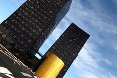 budynki nowożytni zdjęcie royalty free