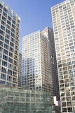 budynki nowożytni Fotografia Stock