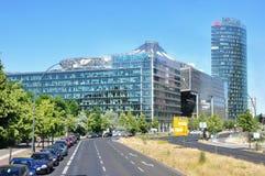budynki nowoczesnych berlin Obraz Stock