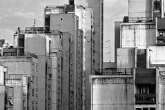 Budynki Nowy Belgrade Zdjęcia Stock