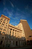 budynki nowy stary Winnipeg zdjęcia stock