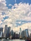 Budynki od Chicagowskiego miasta obrazy stock