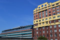 budynki popierają kogoś unikalnego Fotografia Royalty Free