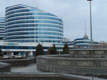 Budynki przeglądają w Astana Zdjęcie Royalty Free