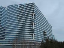 Budynki przeglądają w Astana Obraz Royalty Free