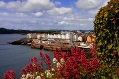 budynki są starym Plymouth wielkiej brytanii Fotografia Royalty Free
