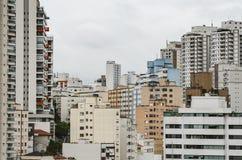 Budynki Sao Paulo SP Brazylia zdjęcia stock