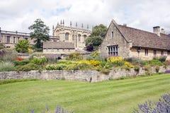 budynki stary Oxford niektóre uk widok Obrazy Royalty Free