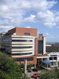 Budynki w Caura ulicie Puerto Ordaz, Wenezuela fotografia stock