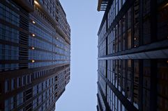 Budynki w Chicago Zdjęcia Stock