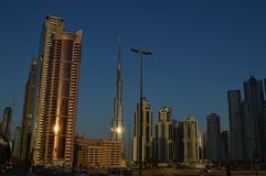 Budynki w Dubai Obraz Stock