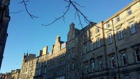 Budynki w Edynburg Fotografia Stock