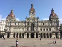 Budynki w Hiszpania fotografia stock