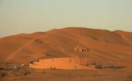 Budynki w Kumutage pustyni Obraz Royalty Free