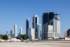 Budynki w Kuwejt mieście Zdjęcia Stock
