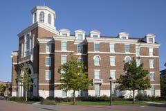 Budynki w l Południowy Metodystyczny kampus zdjęcia stock
