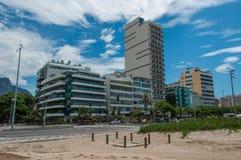 Budynki w Leblon, Rio De Janeiro Zdjęcia Royalty Free