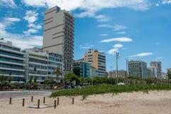 Budynki w Leblon, Rio De Janeiro Obraz Royalty Free