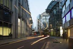 Budynki w mieście Londyn Obrazy Royalty Free