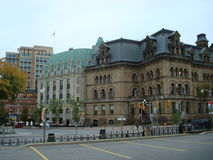 Budynki w Ottawa, Kanada Obrazy Stock