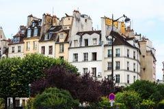 Budynki w Paryż Zdjęcia Royalty Free