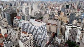 Budynki w São Paulo fotografia stock