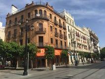 Budynki w Seville obraz stock