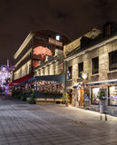 Budynki w Starym Grodzkim Montreal Zdjęcia Stock