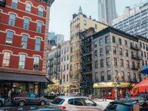 Budynki w Tribeca, NY Obraz Royalty Free