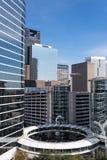 Budynki w w centrum Houston, Teksas Zdjęcia Royalty Free